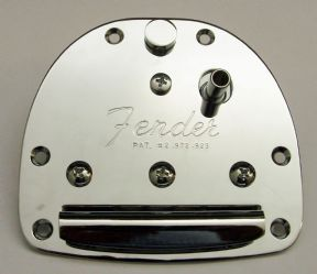 Fender Trem / Tailpiece for Jaguar / Jazzmaster Jap Re-issues(also fits Squier) Chrome  026-4248-000
